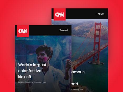 digital signage news cnn