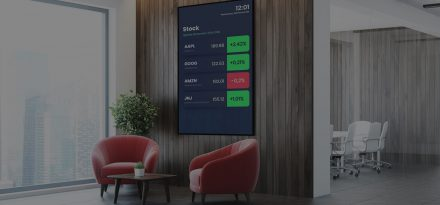 digital signage corporate