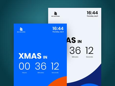 digital signage countdown