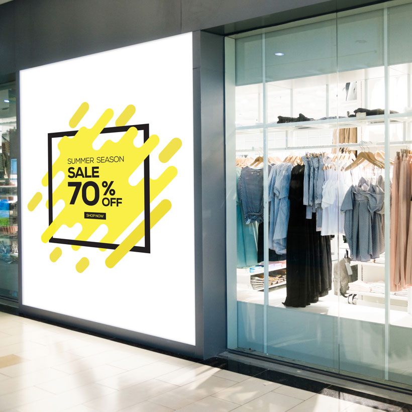 digital signage retail