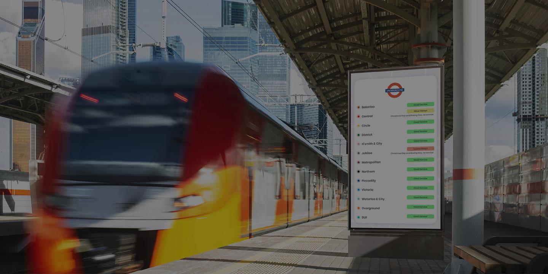 digital signage transport