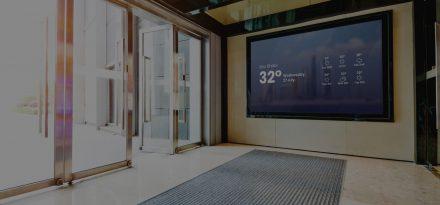 digital signage real estate